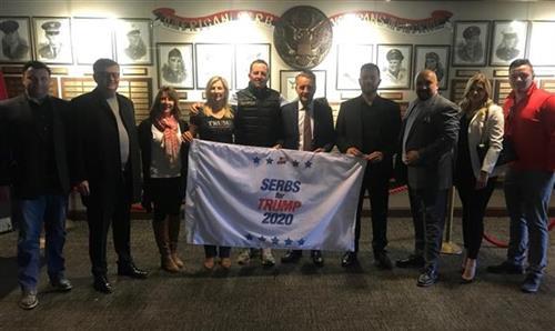Srbi za Trampa: Izuzetna čast da ugostimo Grenela u Milvokiju