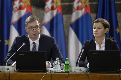 Vučić sutra s Brnabić i Selakovićem o Crnoj Gori i regionu