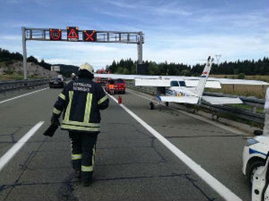 Avion sleteo na auto-put u Hrvatskoj