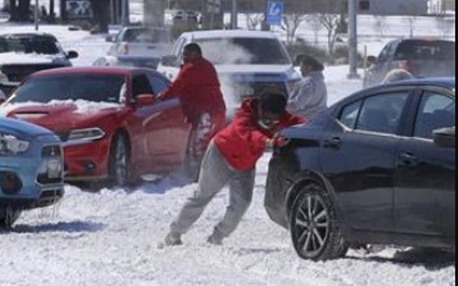 Zimska oluja - u Teksasu hladnije nego na Aljasci
