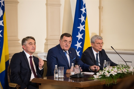Dodik, Komšić i Džaferović sredinom marta sa Erdoganom