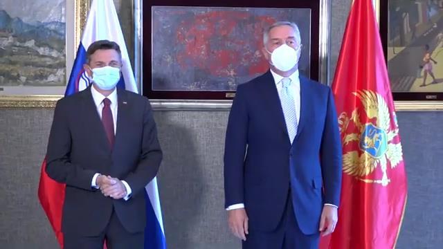 Đukanović i Pahor o saradnji i budućnosti regiona u EU