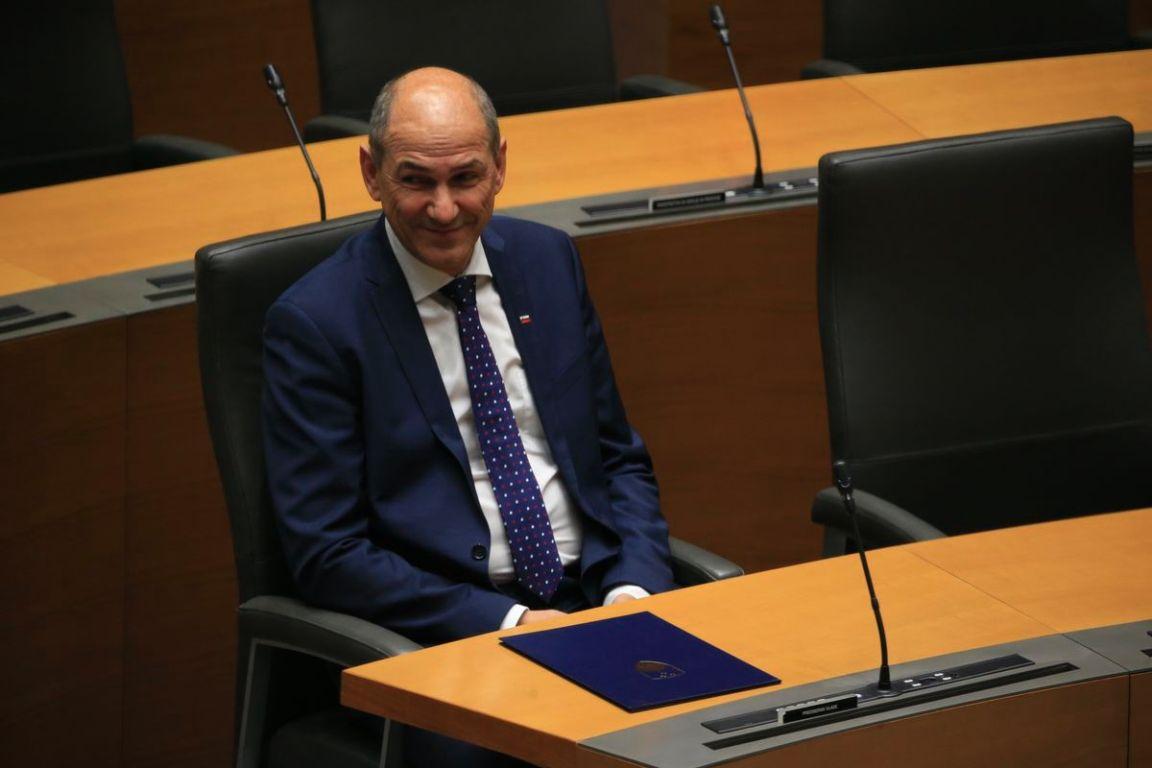 Slovenija dobila 14. vladu, premijer Janez Janša