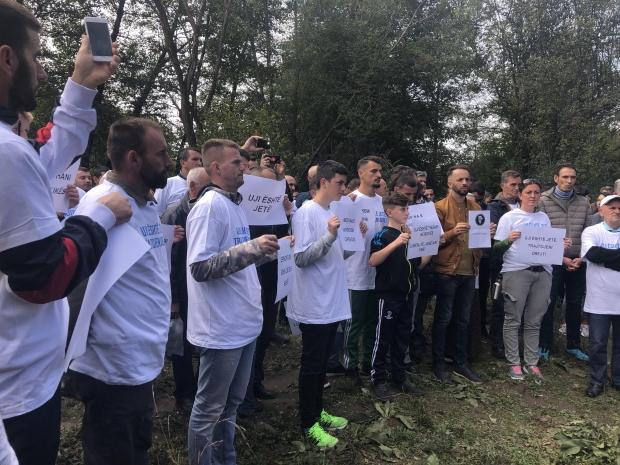 Protest u Donjoj Bitinji danas bez incidenata