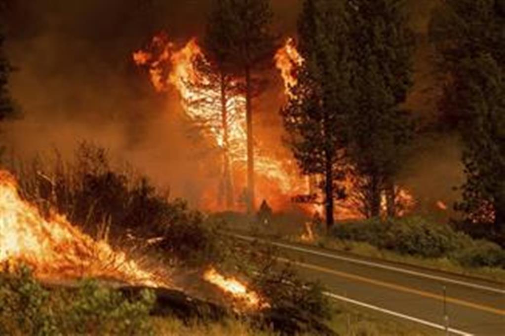 SAD: Vetar i gromovi pogoduju rasplamsavanju novih požara