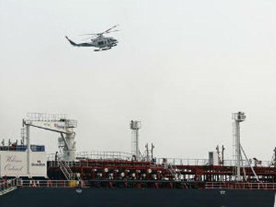 Iranski desant na tanker u međunarodnim vodama