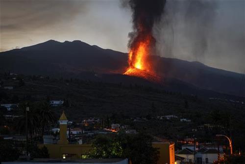 Vulkan na La Palmi i dalje aktivan, šteta 87 miliona evra