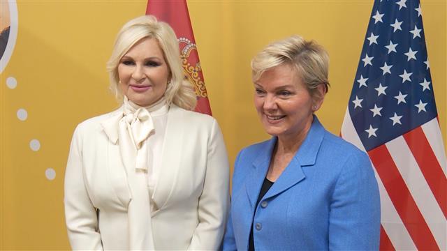 Mihajlović i sekretarka SAD o saradnji u energetici