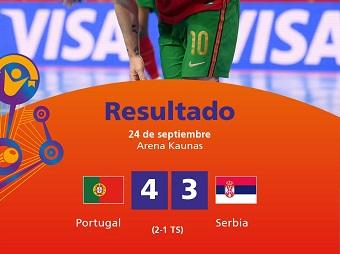 Futsaleri Srbije posle produžetaka eliminisani od Portugala