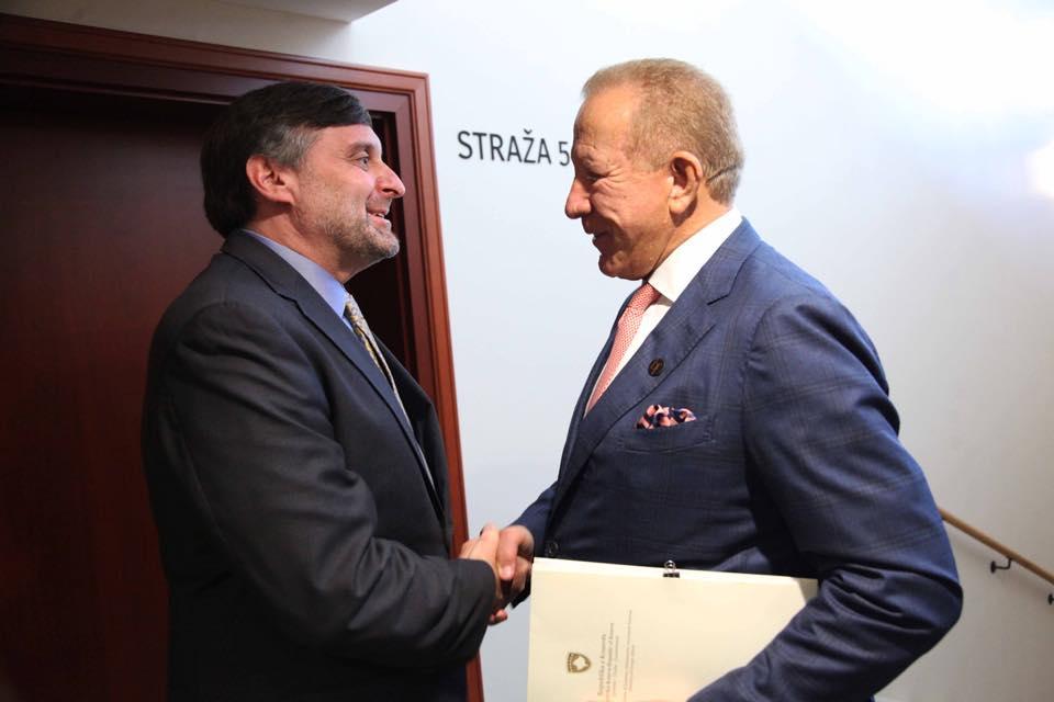 Pacoli Palmeru: Imate priliku da zatvorite tamno poglavlje između Kosova i Srbije