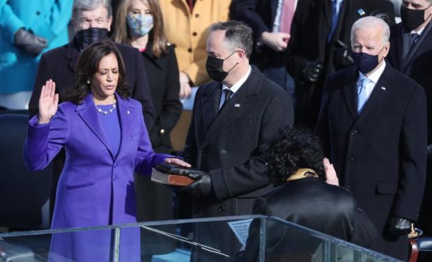 Kamala Haris položila zakletvu za potpredsednicu SAD