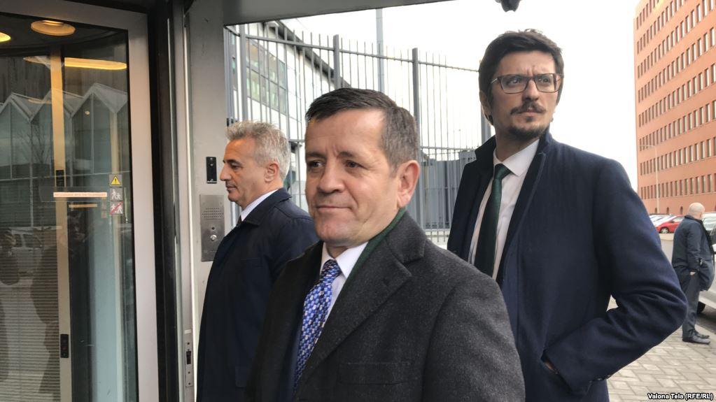 Rustem Mustafa Remi na ispitivanju u Hagu
