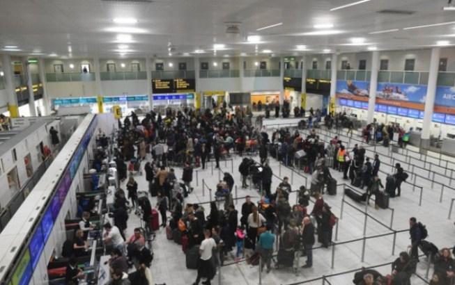 Dve osobe privedene zbog incidenta na aerodromu Getvik