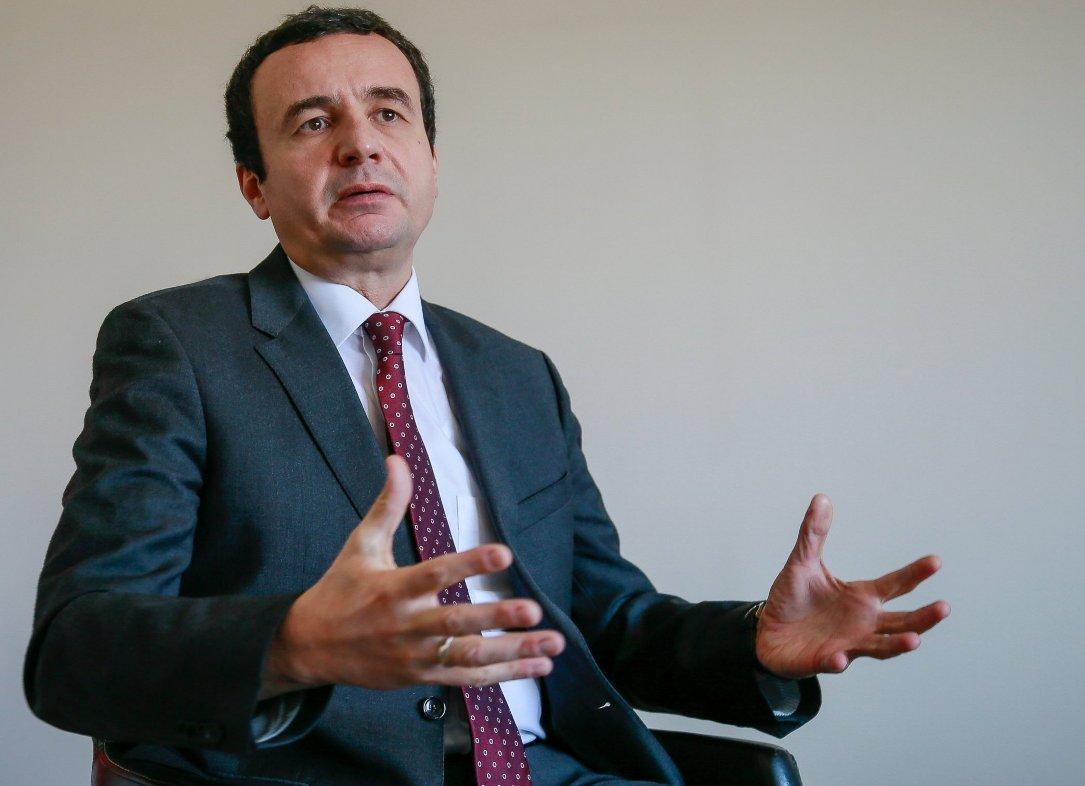Kurti: Dobio sam pretnje od tzv. Albanske dobrovoljačke garde