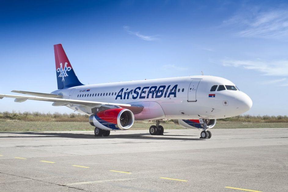 Avion Er Srbije odleteo za Istanbul po naše građane
