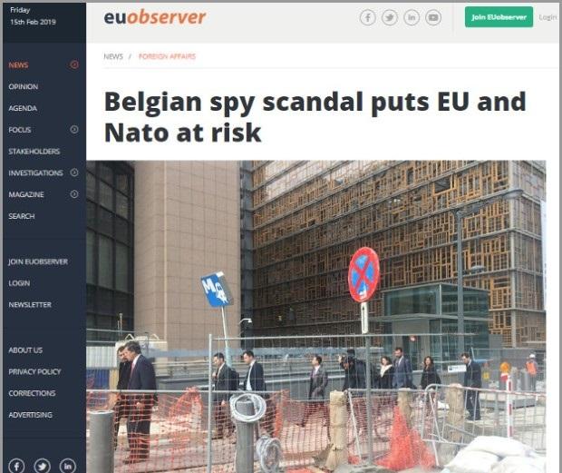 Špijunska afera u Belgiji, umešana i Srpkinja?