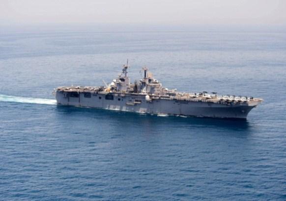 Pompeo i američki ratni brodovi na Bliskom istoku