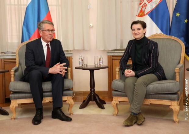 Čestitka Medvedeva Brnabićevoj: Neka nam 2019. donese radost