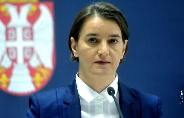Brnabićeva za RTS: Potezi Prištine štete imidžu celog regiona