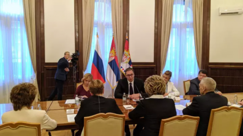 Vučić: Zabrinut sam zbog pokušaju Albanaca da donesu odluku o ukidanju SL