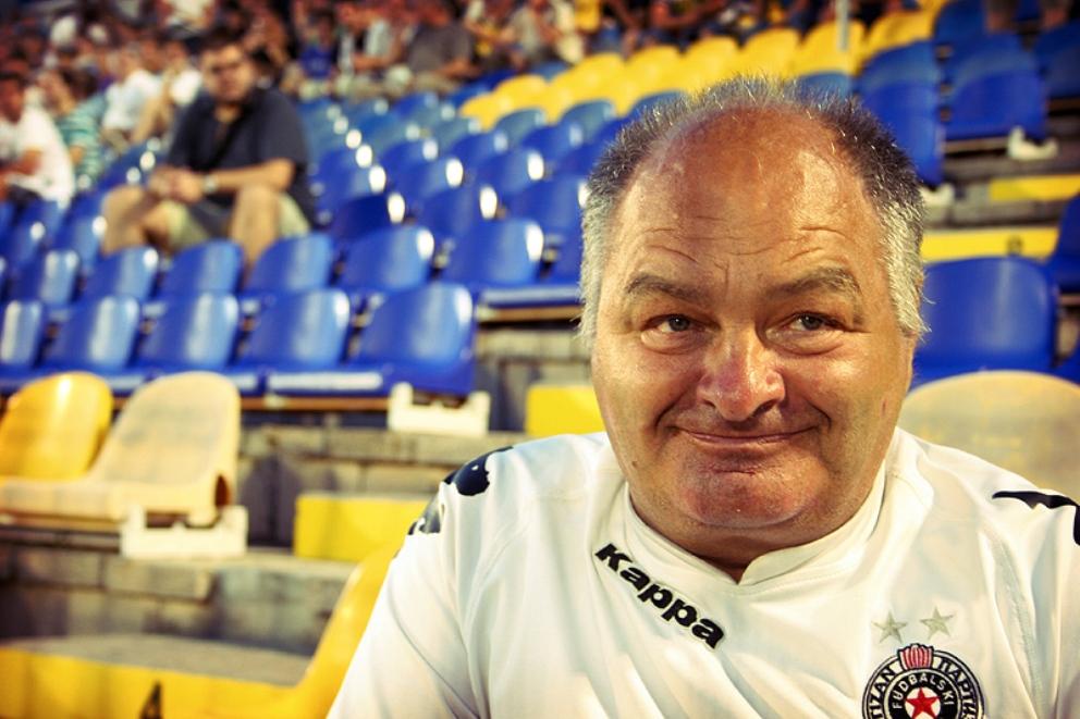 Preminuo poznati navijač Partizana Miša Tumbas