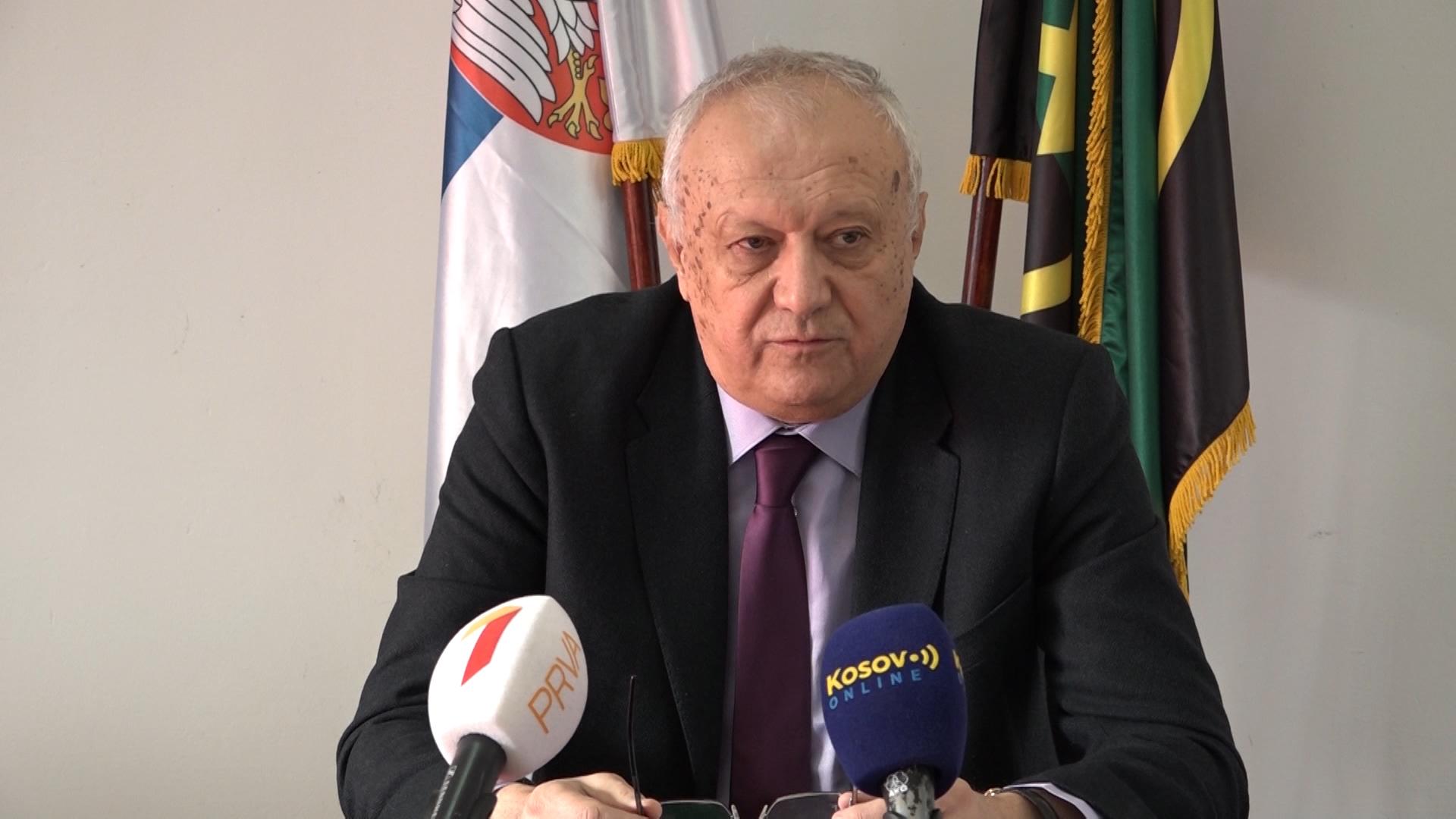 """Konferencija za štampu Kombinata """"Trepča"""" u Leposaviću"""