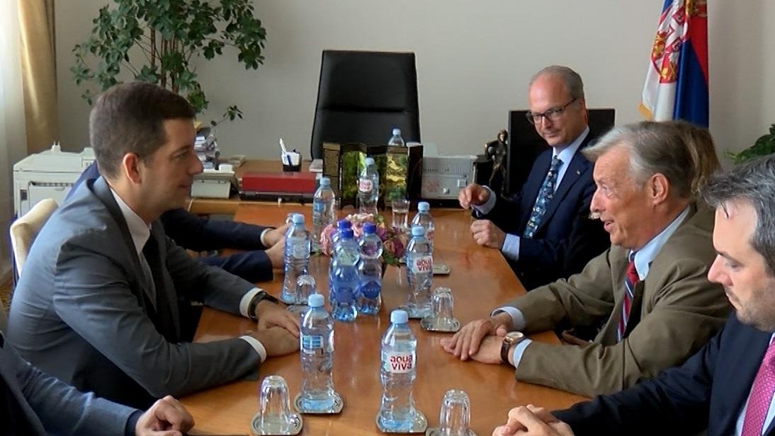 Đurić sa poslanikom AFD o situaciji na Kosovu i Metohiji i položaju Srba
