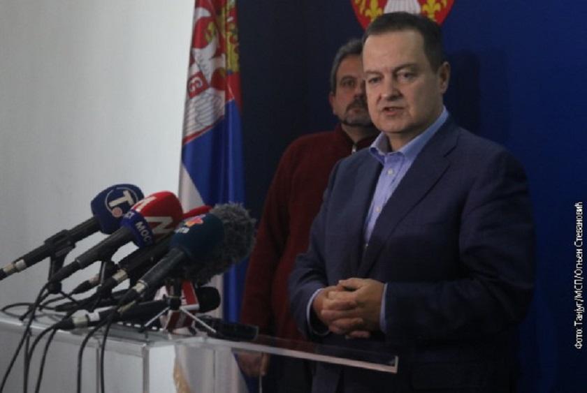Dačić: Jasno je da Priština ne donosi odluke jednostrano