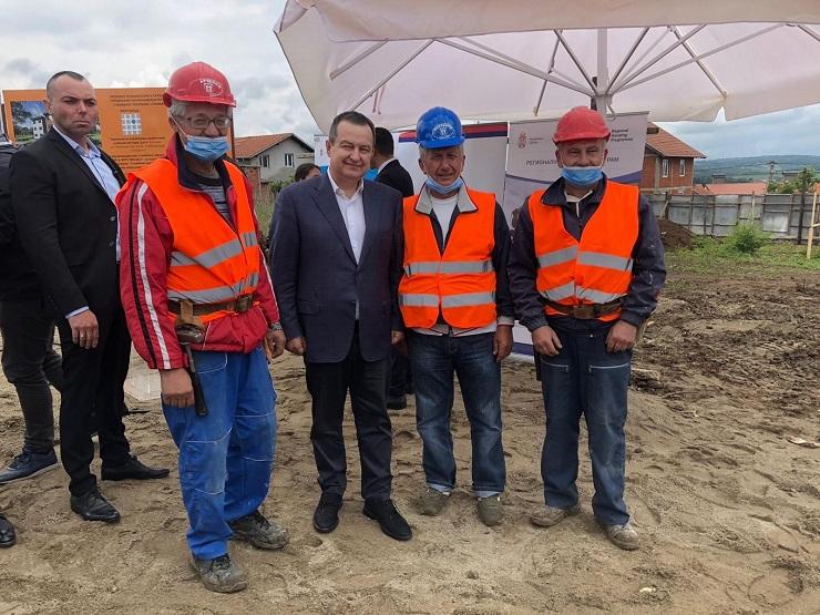 Dačić: Napredak Regionalnog stambenog programa naš je zajednički uspeh...