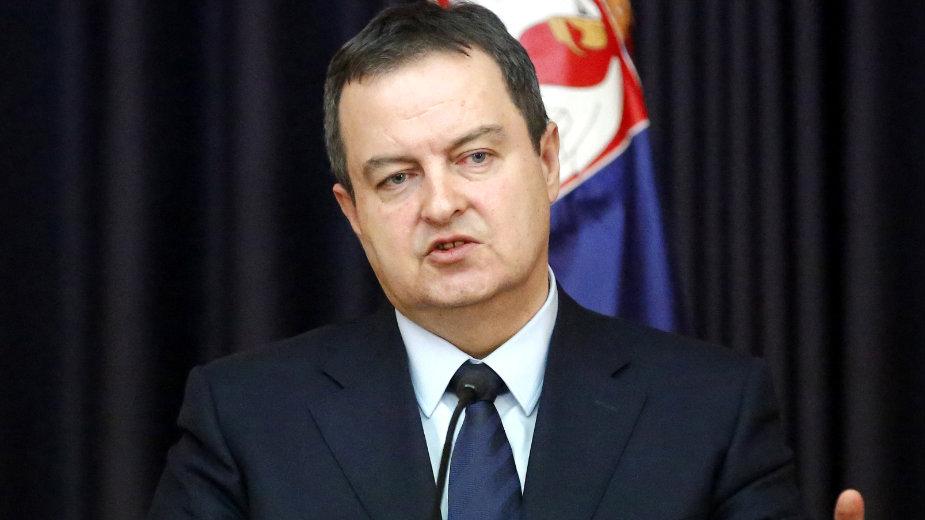 Dačić: Današnji dan trajno ćemo pamtiti po zlu