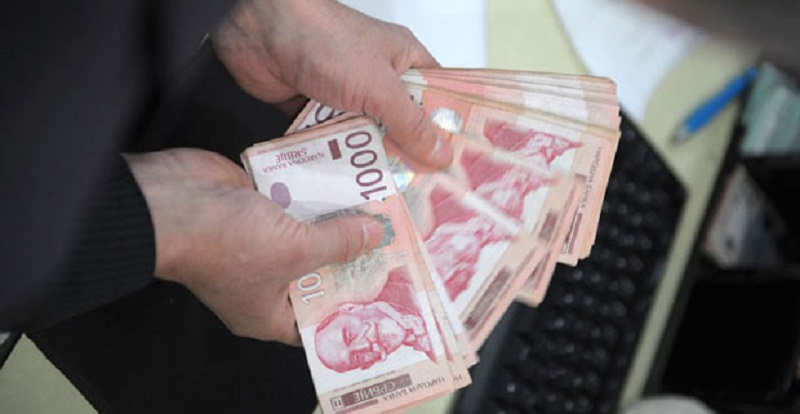 Prosečna martovska neto plata 59.681 dinara, veća 8,6 odsto