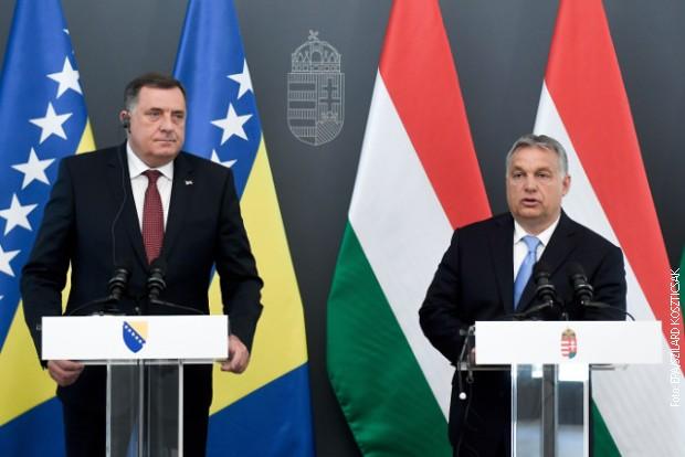 Dodik i Orban: Jačaćemo saradnju Republike Srpske i Mađarske