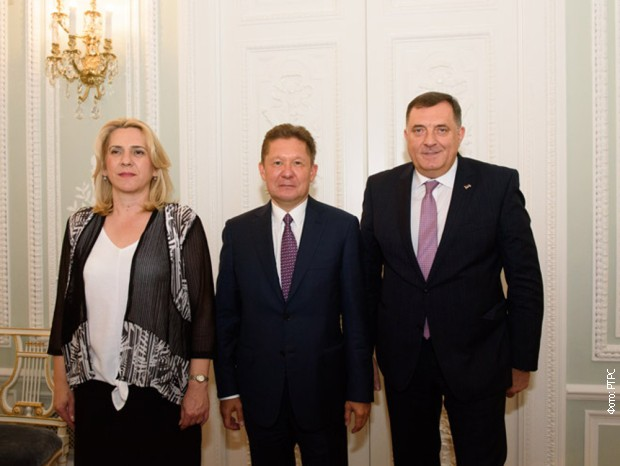 Dodik i Cvijanovićeva u Rusiji o gasifikaciji Republike Srpske