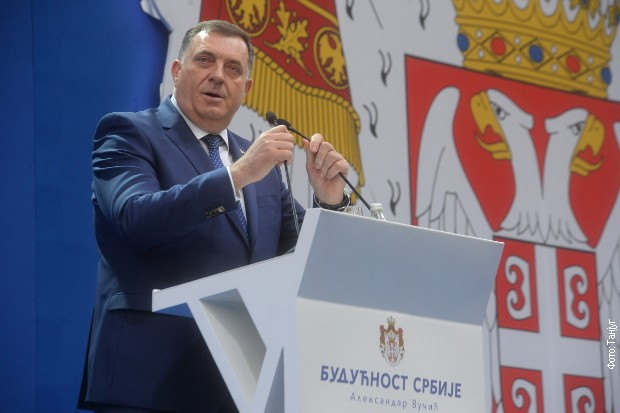 Dodik: Srbija je garancija naše budućnosti i stabilnosti