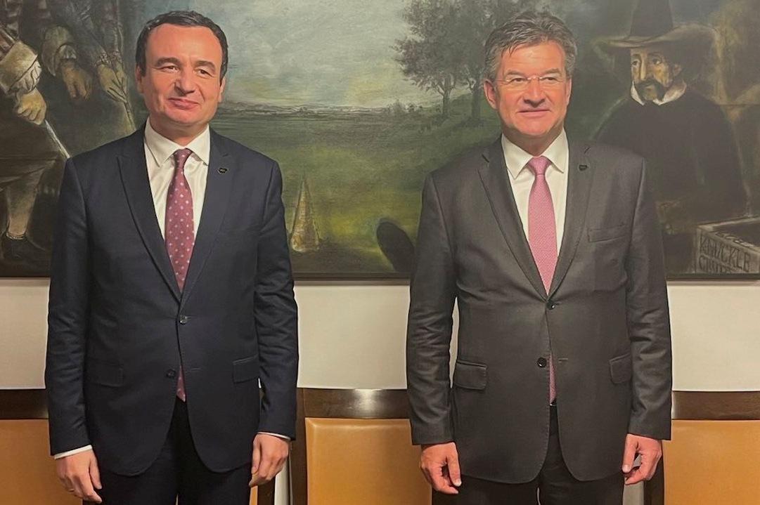 Bled: Kurti razgovarao sa Lajčakom o odnosima EU i Zapadnog Balkana