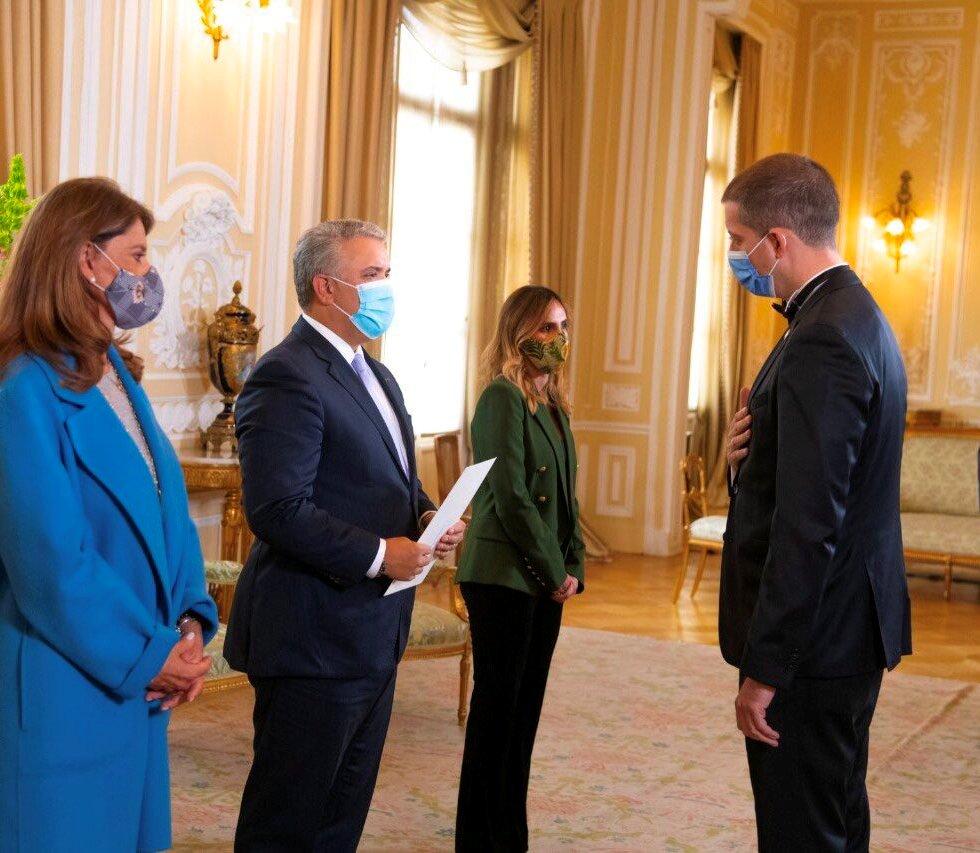 Đurić ambasador i u Kolumbiji