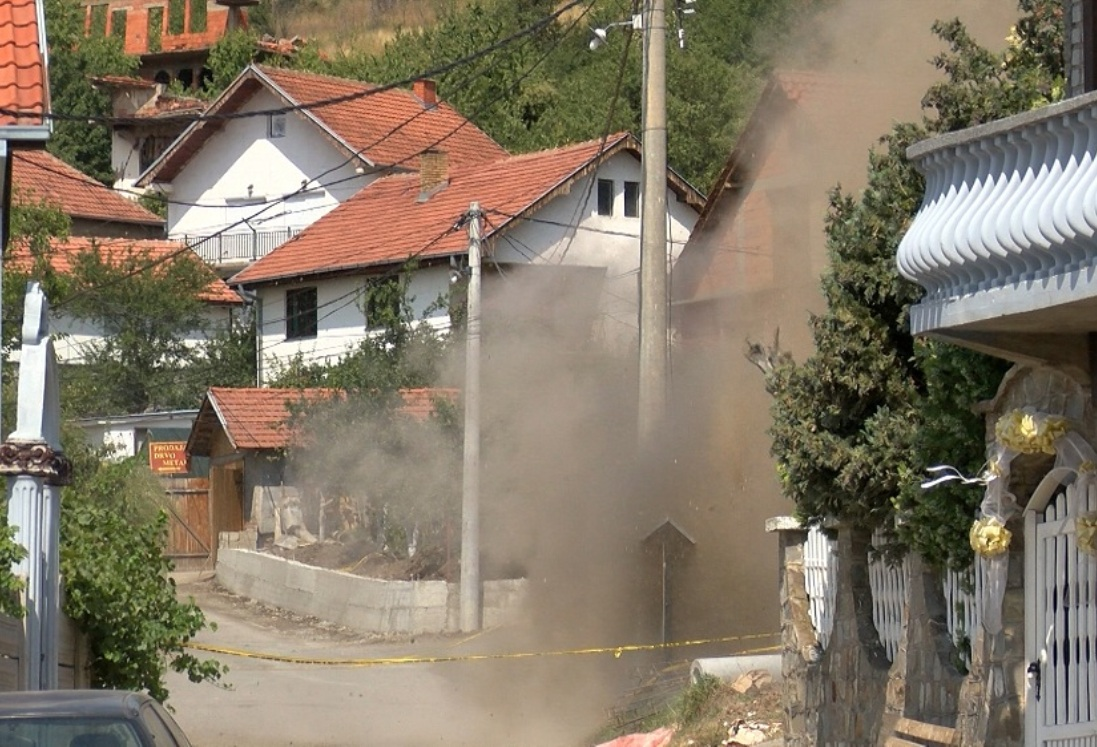 Neutralisana bomba koja je pronađena u naselju Brđani