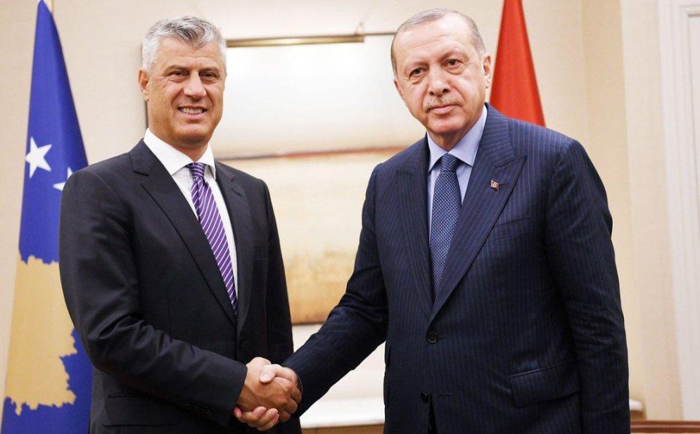 Erdogan sa Tačijem u Istanbulu