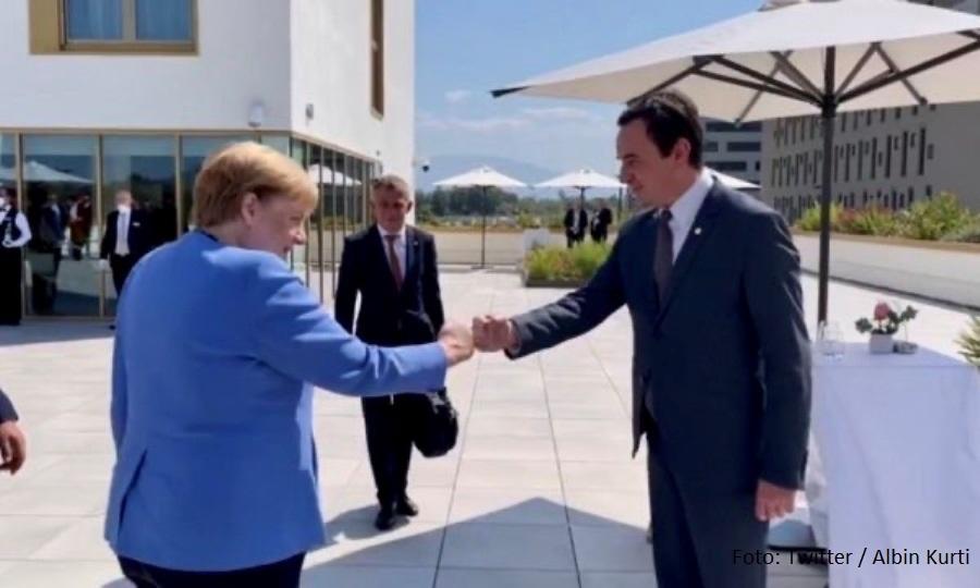 Nemačka ambasada ignoriše Kurtija, nije objavila fotografije susreta sa Merkel