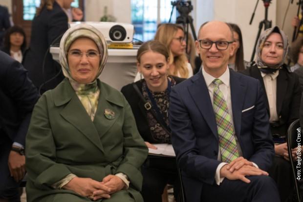 Emina Erdogan i Trivan na predstavljanju projekta