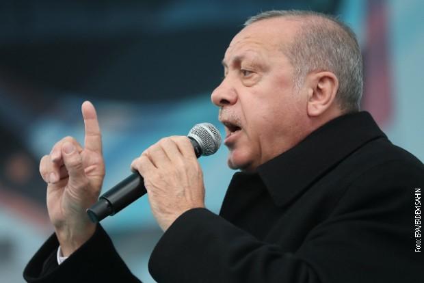 Erdogan: Nećemo zaustaviti operacije protiv kurdskih milicija