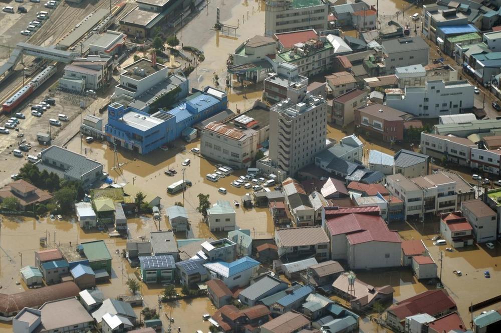 Broj nastradalih od posledica tajfuna u Japanu porastao na 63