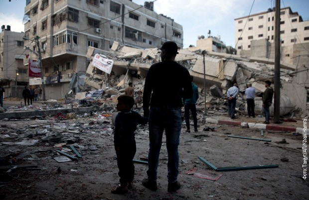 Izraelska avijacija srušila još jedan soliter u centru Gaze