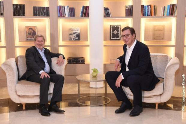 Han se sastao sa Vučićem u Beogradu