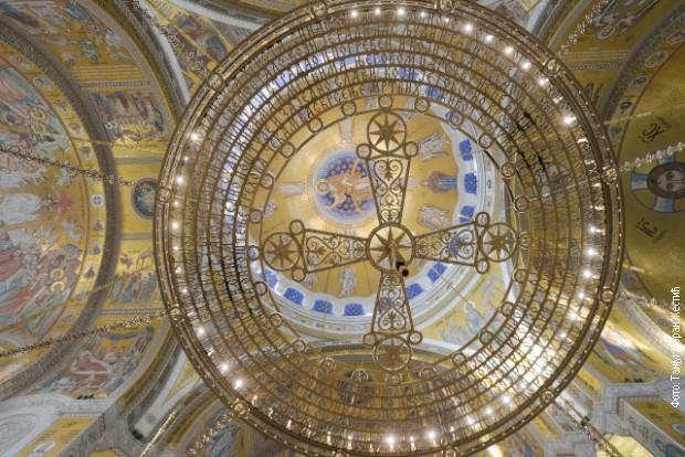 Velelepni mozaik u Hramu Svetog Save sada vidljiv u punoj lepoti