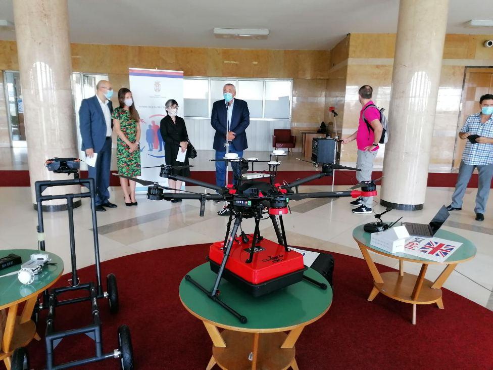 Srbija dobila dron koji otkriva posmrtne ostatke nestalih