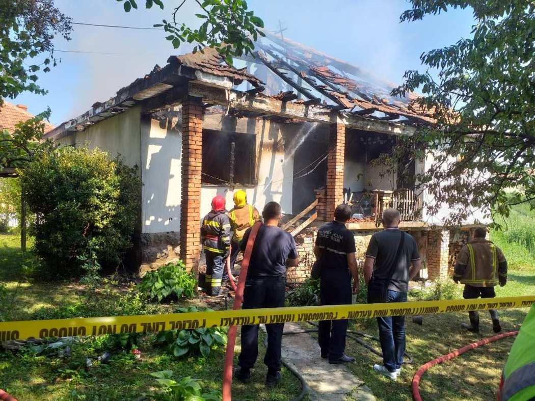 U požaru u Žitkovcu stradala starica