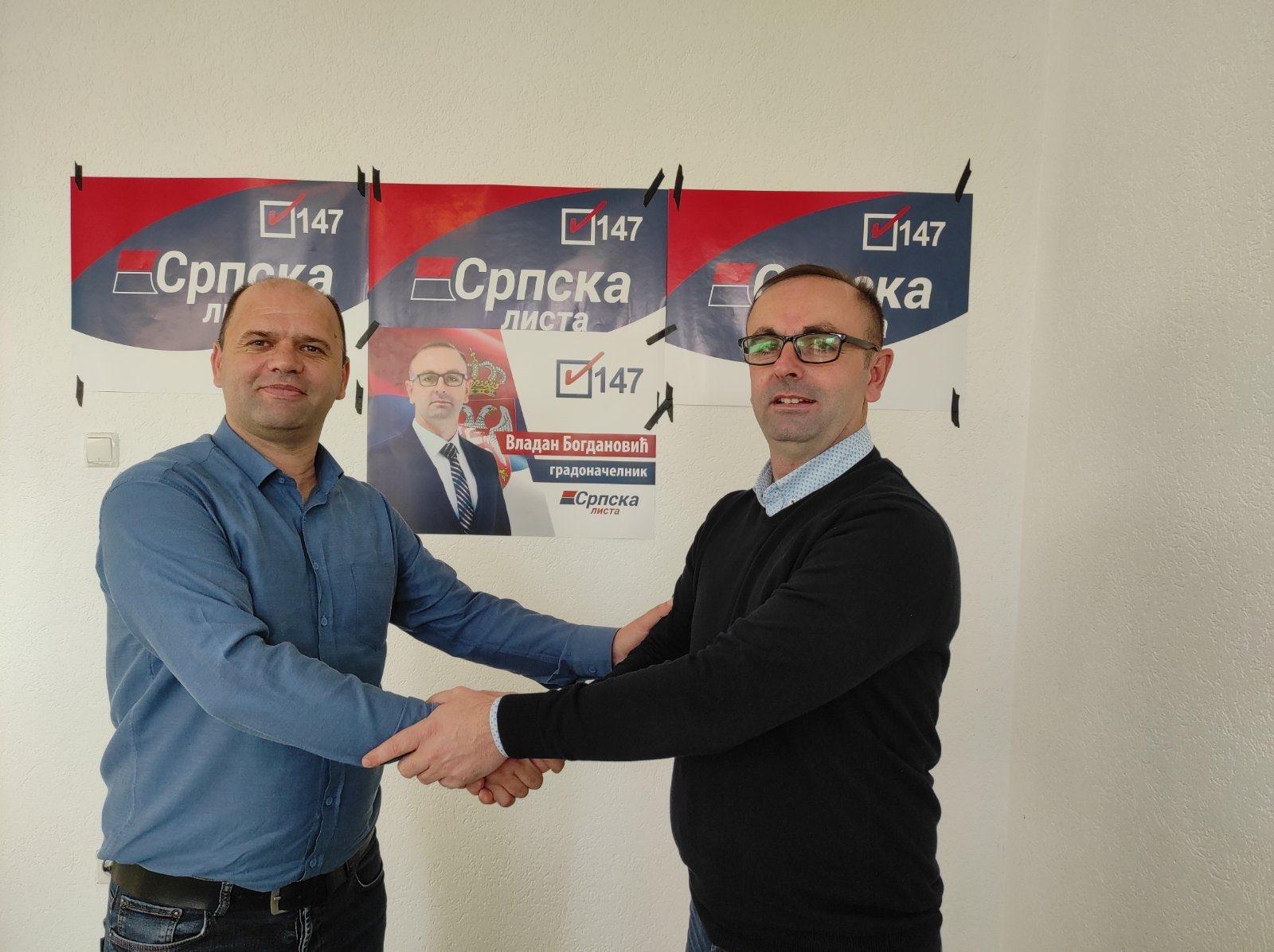 Mirković sa članovima GI Narodno jedinstvo pristupio Srpskoj listi