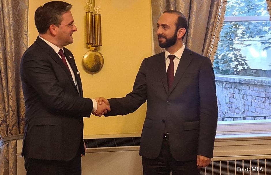 Selaković: Principijelna pozicija Jermenije po pitanju KiM