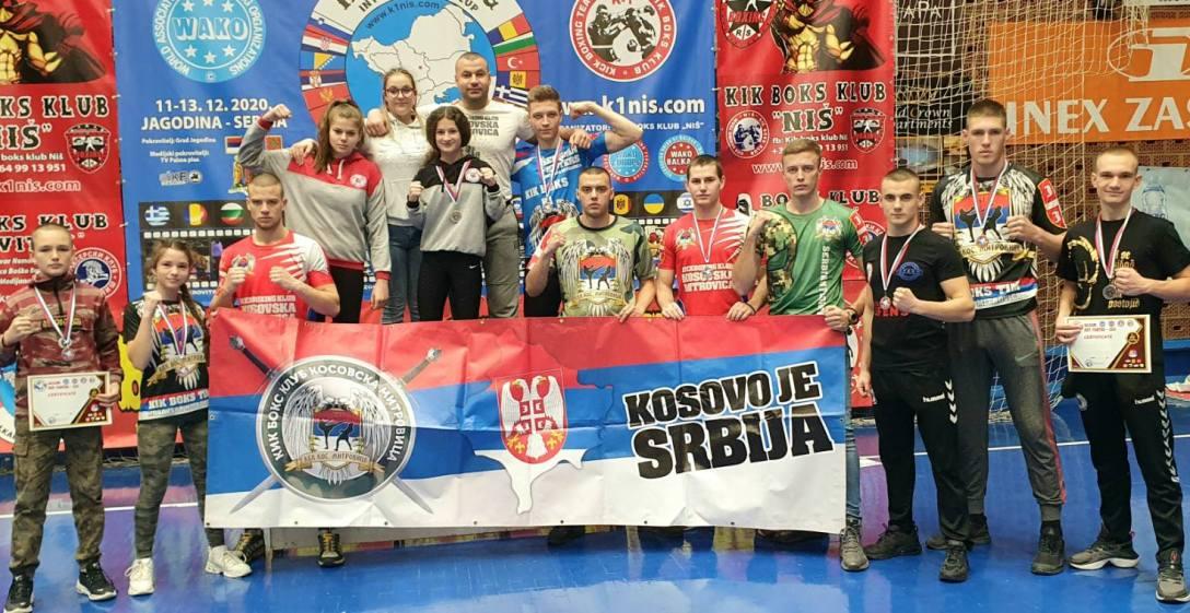 Medalje na Balkanskom kupu za KBK 'Kosovska Mitrovica'